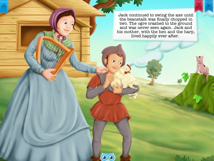 Jack and the Beanstalk - Have fun with Pickatale while learning how to read. screenshot-3