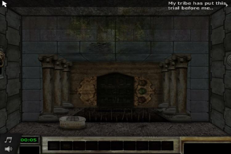 Temple Escape (room escape)