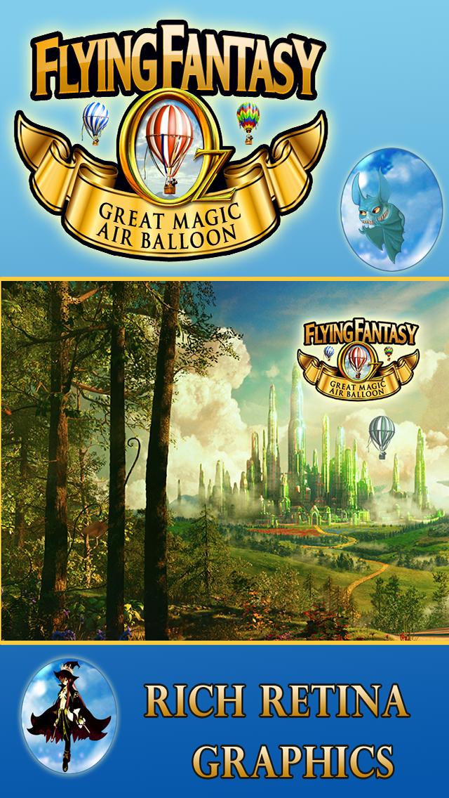 オズフライングファンタジー - グレートレースゲーム魔法の熱気球でのおすすめ画像1