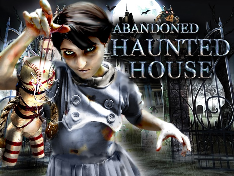 Abandoned Haunted House : Hidden Objects