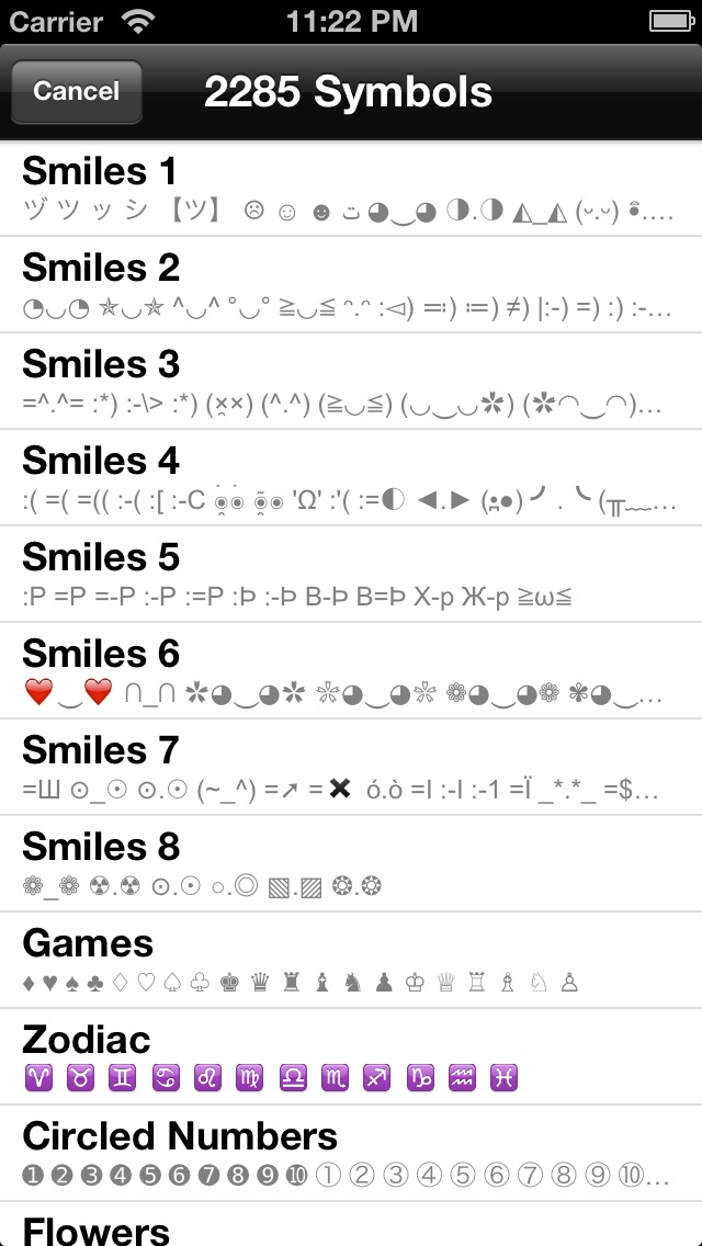 Special Symbols For Facebook Twitter Texts Email Glam Edition