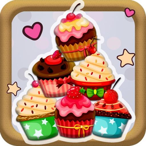 A Cupcake Splat Pop game - Free Version