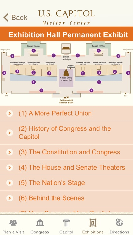 U.S. Capitol Visitor Guide screenshot-3