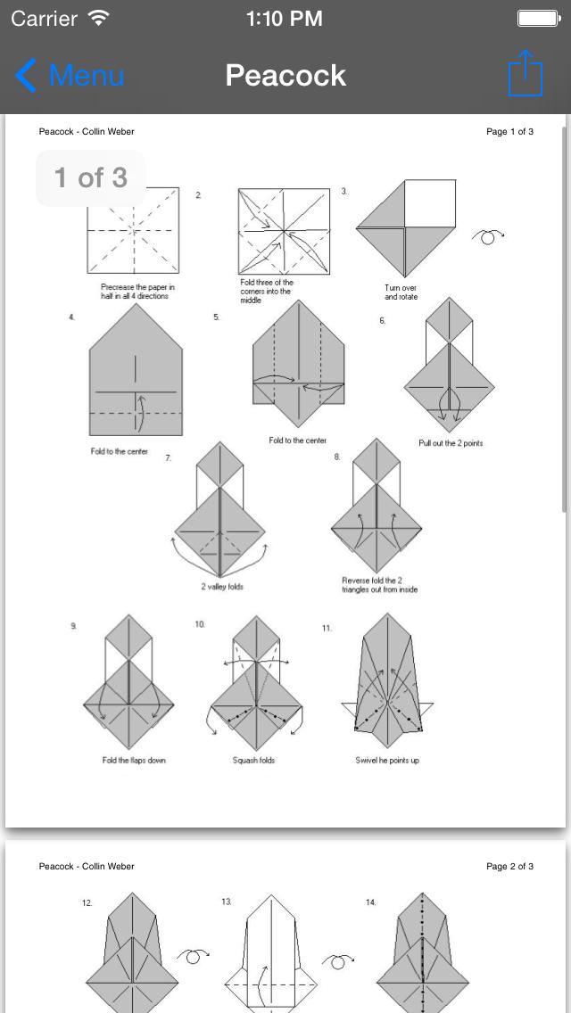 Skilled Origami screenshot
