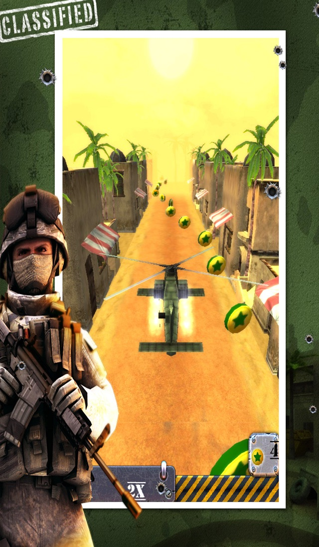 War Games of Blackhawk - Modern Heli-Chopper Combat Games Free Screenshot