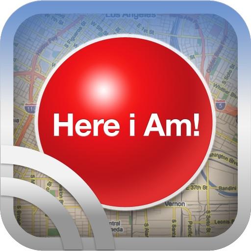 Here I Am Locator icon