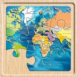 World Map Puzzle (Jigsaw)