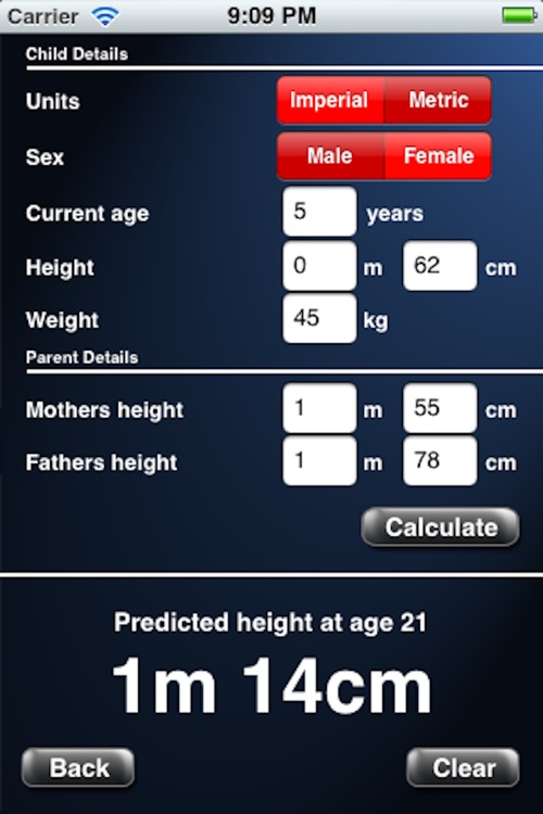 Adult Height Calculator screenshot-4