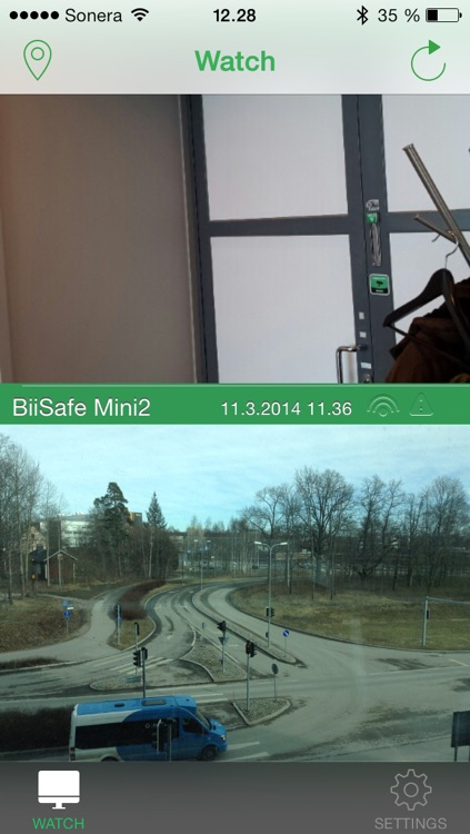 BiiSafe Home - Remote monitoring with picture and video clips screenshot-3