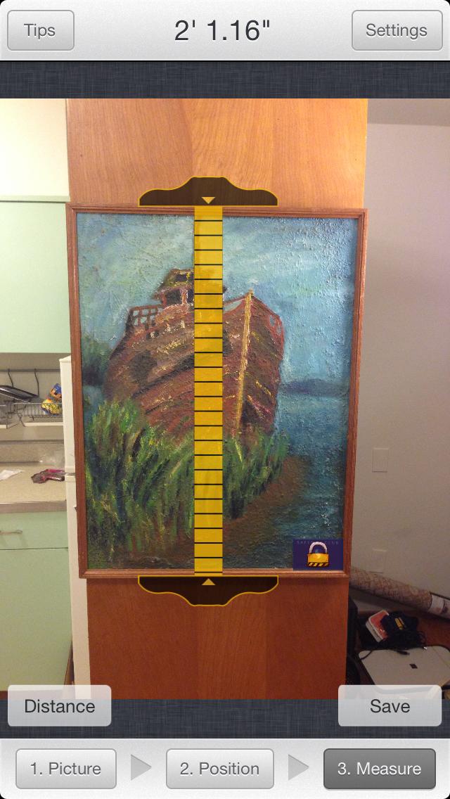 RulerPhone Free - Photo Measuring screenshot four