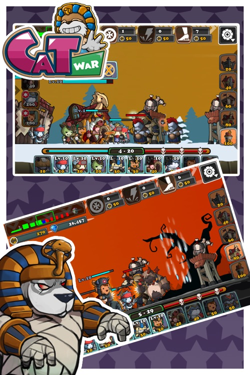 Cat War screenshot-3