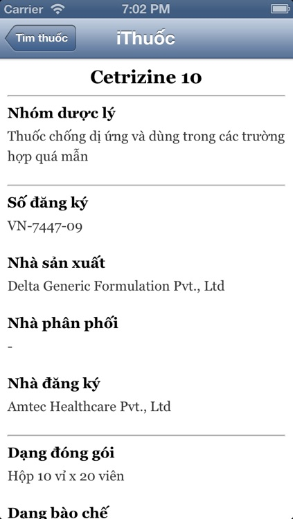 iThuốc 2.0: danh bạ thuốc - Thuoc Vietnam (iThuoc - Danh ba, list duoc pham, biet duoc, tu dien y hoc Viet Nam - y khoa VN, bac si gia dinh)