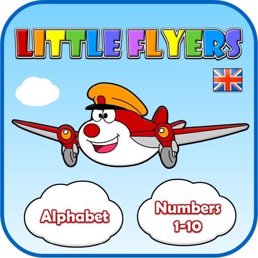 Little Flyers: ABCs & Numbers 1-10 (UK English)