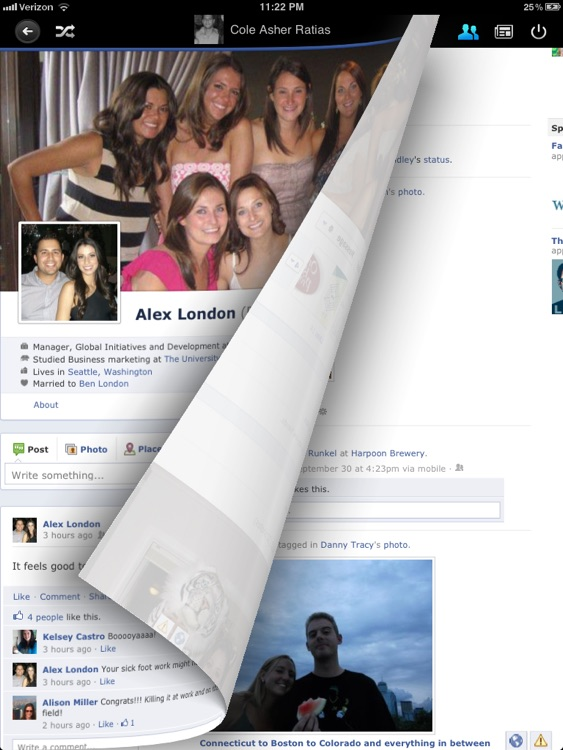 Flip for Facebook (formerly Timeline)