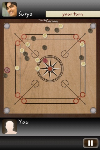 Touch Carrom: Striker Edition