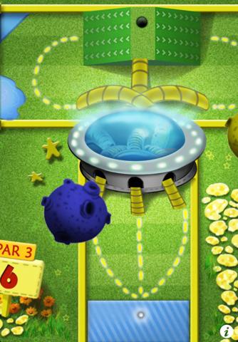 Mini Touch Golf screenshot 1