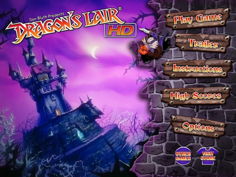 Dragon's Lair HD screenshot-0