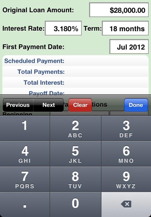 Payoff Calc screenshot-4