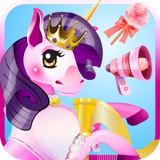 MY CUTE LITTLE MAGIC PRINCESS PONY UNICORN GAME