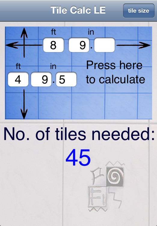 Tile Calc LE screenshot-3