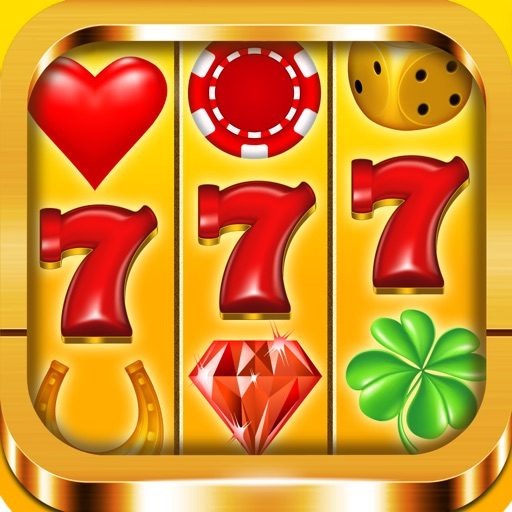 Classic Free Casino 777 Slot Machine Games with Bonus for Fun : Win Big Jackpot Daily Rewards iOS App