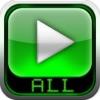AVI, FLV, WMA, MPEG, RMVB, MP4 Player