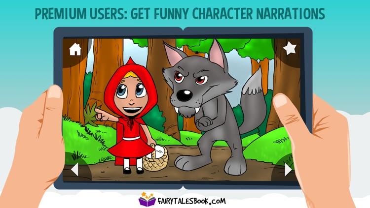 Little Red Riding Hood - FairyTalesBook.com screenshot-3