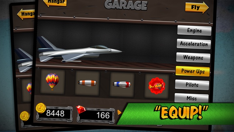 Flight Simulator Top Wing Airplane Games - by the AAA Team screenshot-3