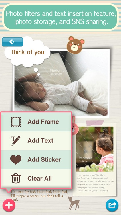 Photonia Photo Collage Editor - Create your story via amazing Pic Frames and unique Collages with Caption screenshot-4