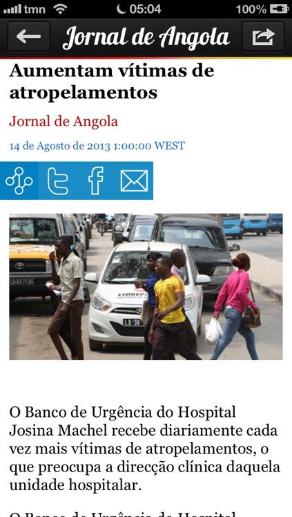 iAngola Pro - Notícias de Angola screenshot-3