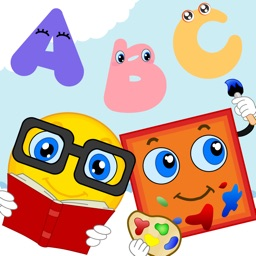 Shapes & Colors Toddler Preschool -  All in 1 Educational Puzzle Games for Kids