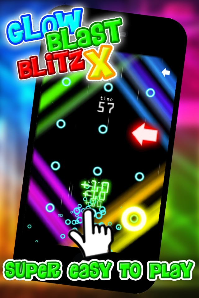 Glow Blast Blitz X – the free fast and furious training game for tap tap games Cheat Codes