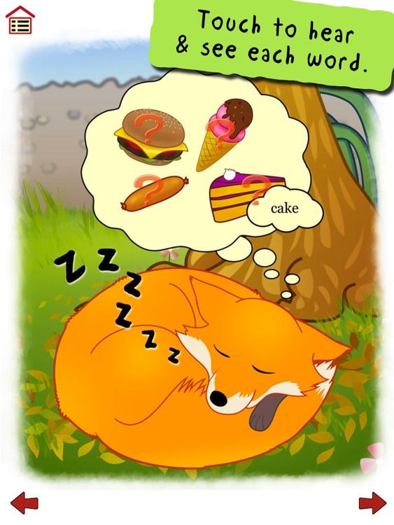 Ferdinand Fox's Big Sleep - interactive rhyming story book app for kids screenshot-3