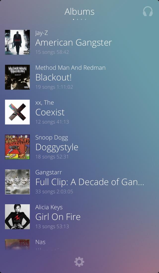 Beat - Music player Screenshot