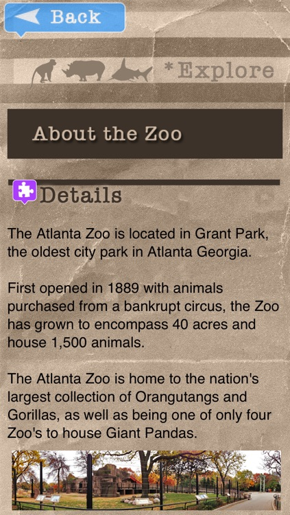 Zoo Explorer - Atlanta
