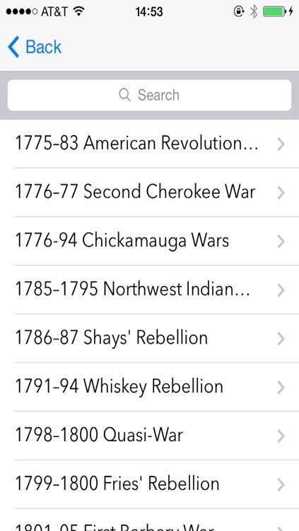 American War History
