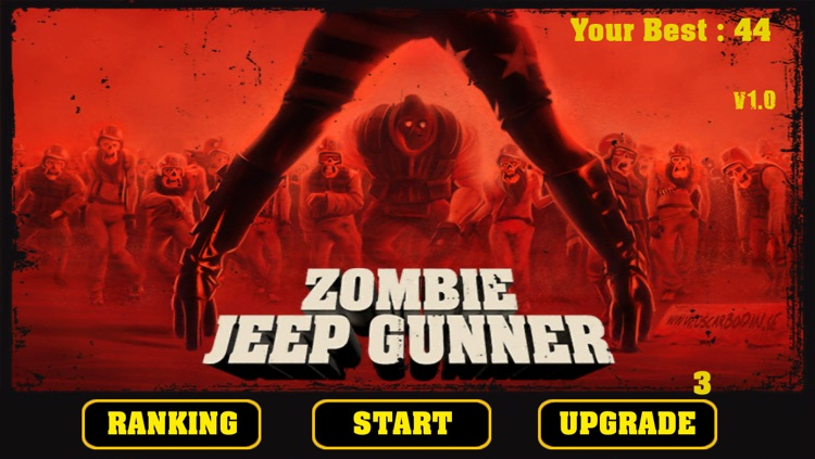 Zombie Jeep Gunner screenshot-1