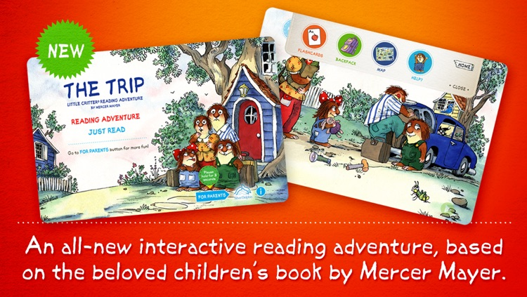 The Trip Little Critter Reading Adventure Lite screenshot-0