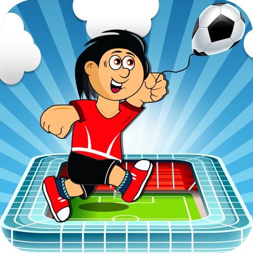 Soccer Ball Ballon Ninja Jump - Stadium Coin Runner Free