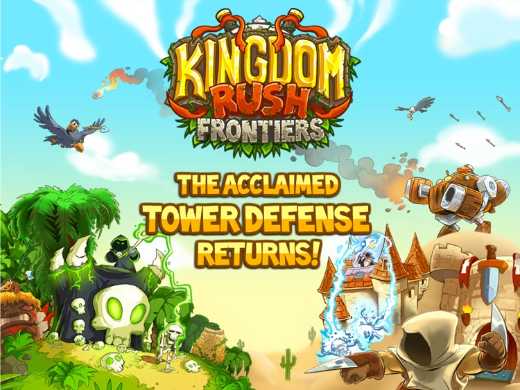 Kingdom Rush Frontiers HD screenshot-0
