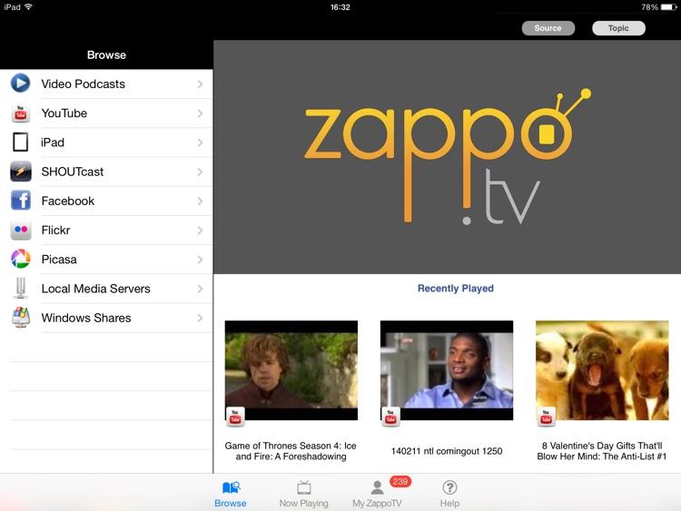 Media Player HD for Sharp TV screenshot-4