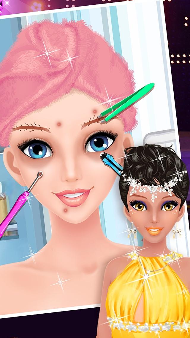 Prom Salon Spa - Girls Gamesのおすすめ画像3