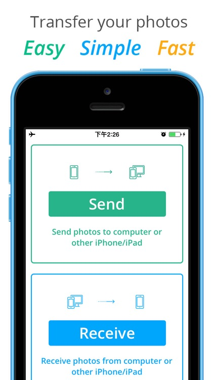 Photo Transfer Pro - Upload and download photos and videos wireless via WiFi screenshot-0