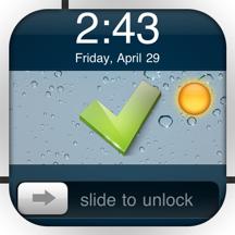 Make LockScreen (To-do List & Weather)