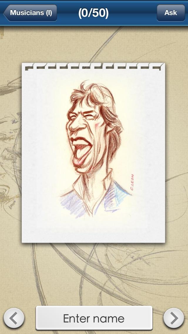 Celebrities Quiz: Famous Stars Caricatures