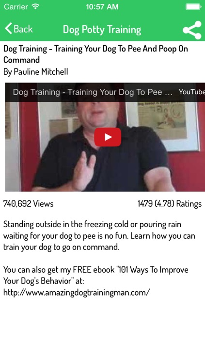 Dog Training Guide - Ultimate Video Guide screenshot-3