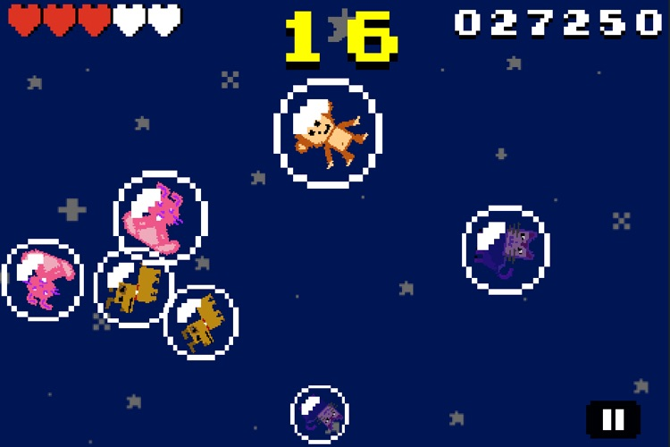 Bubble Pets: 8-BIT RETRO TWITCH ACTION