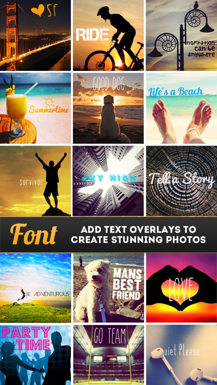 Font Free - Text Overlay for Photos