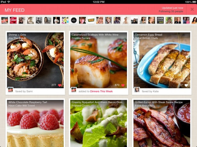 Foodily for ipad recipe sharing with friends on the app store ipad screenshots forumfinder Image collections