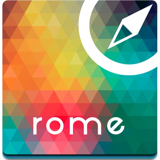 Rome offline map, guide & hotels